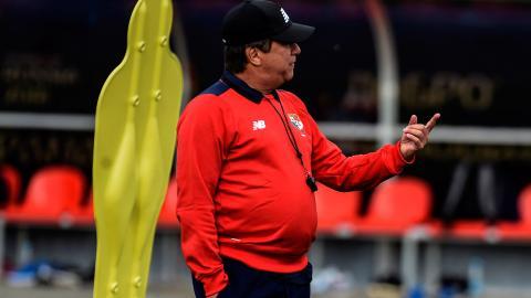 Hernán Darío Gómez, técnico de la Selección Panamá.