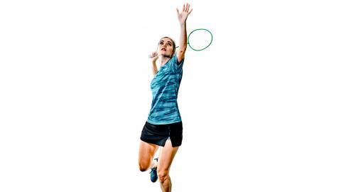El bádminton es el único deporte de raqueta que no se juega con pelota.