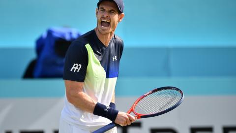 El tenista británico Andy Murray en Londres.