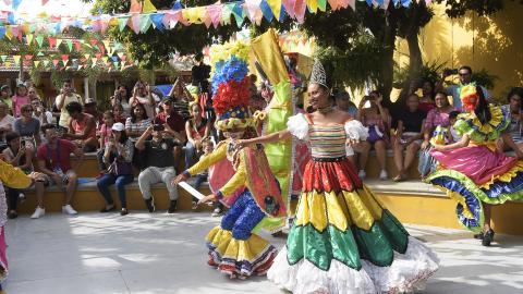Las danzas representativas del Carnaval hacen parte de la agenda cultural.