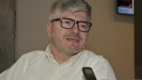 El director de la Aerocivil, Juan Carlos Salazar.