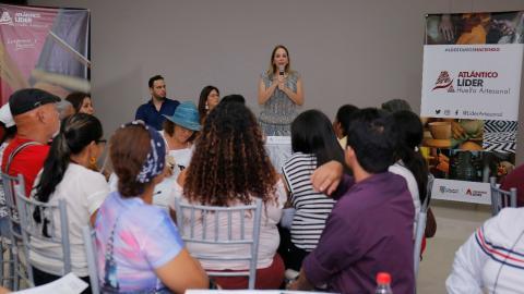 Liliana Borrero, primera gestora, en el evento.