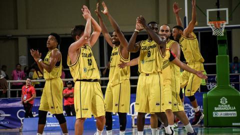 Colombia buscará la medalla de oro en baloncesto.
