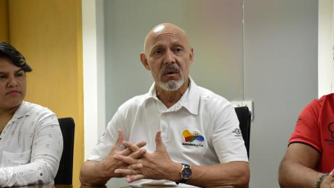 Armando Segovia, director técnico de los Juegos.