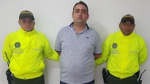 Juan David Gutiérrez Jaramillo, alias Wason, cobijado con detención domiciliaria.
