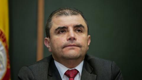 Jaime Hernando Suárez, registrador delegado para lo electoral.