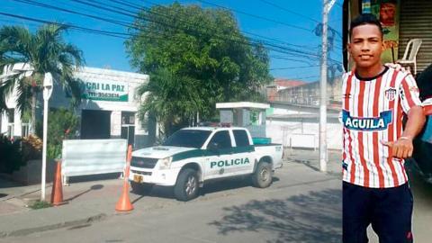 CAI del barrio La Paz, donde sucedieron los hechos.