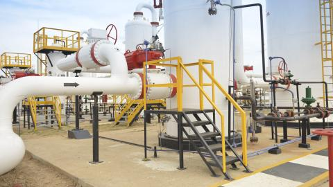 Equipos de gasoducto.