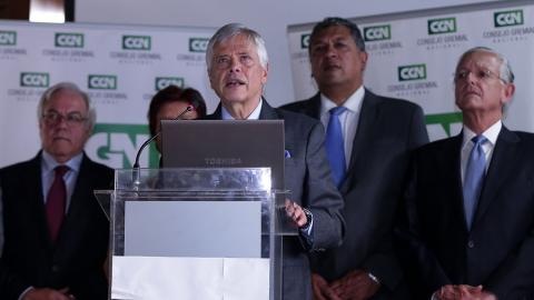Jorge Humberto Botero, presidente del Consejo Nacional Gremial.