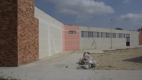Fachada del Centro Regional de Víctimas, ubicado en el corregimiento de Juan Mina.