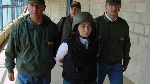 Alias Sonia, fue deportada desde los Estados Unidos a donde fue extraditada en 2005.