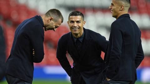 Cristiano Ronaldo reconoció el Old Trafford antes de enfrentar al Manchester.