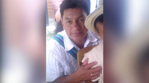 José Domingo Ulcué Collazos, asesinado.