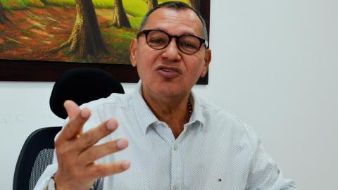 Vicente Periñán Petro, rector de la Universidad de Sucre.