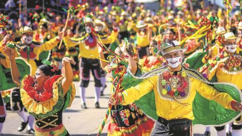 El 100% de los eventos oficiales de Carnaval se desarrollaron al aire libre.