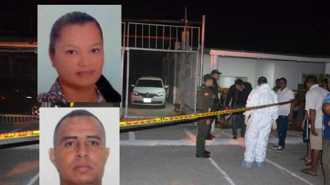 Soraya Baquero y Joaquín de Jesús Gutíérrez, muertos.