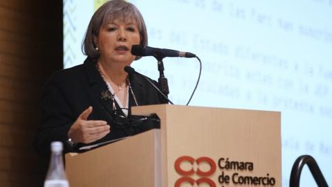 Patricia Linares, presidente de la JEP.