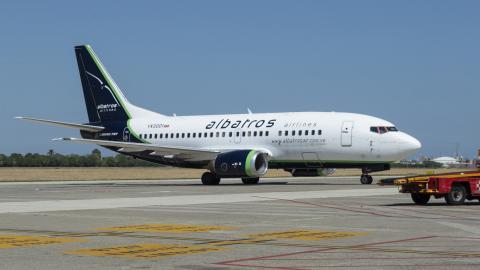 Un avión de la aerolínea que operará la nueva ruta.
