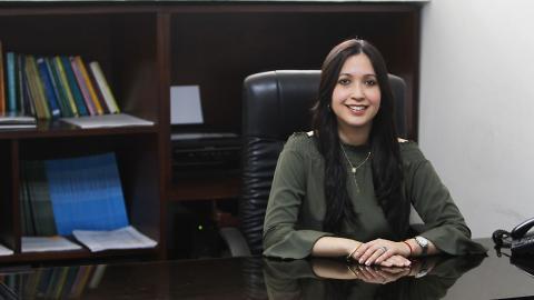 La directora de la Lonja de Propiedad Raíz de Barranquilla, Sandra Carbonell.
