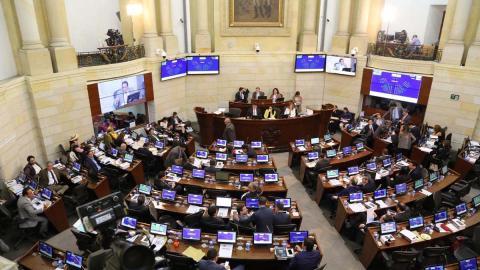 Plenaria del Senado.