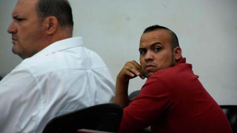 Jonathan Berdugo Bolaños, taxista procesado.