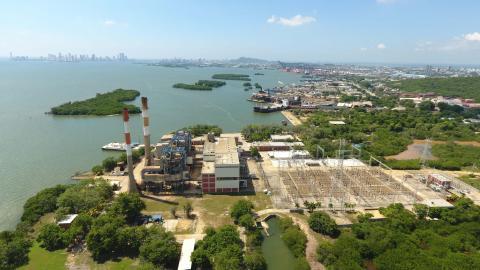 Proyecto de transmisión de energía eléctrica Bolívar – Cartagena del Grupo de Energía de Bogotá (GEB) que hace parte del Plan5Caribe.