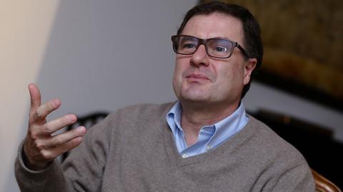 El exdirector de la Agencia Nacional de Infraestructura, Luis Fernando Andrade.
