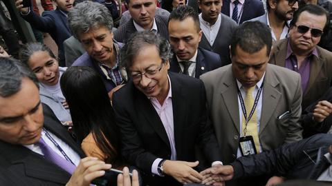 Gustavo Petro, senador de la República.
