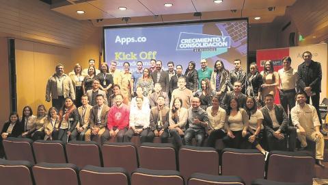 El kick-off de Apps.co en Bogotá se realizó el 10 de septiembre anterior, con la presencia de la ministra de las TIC, Sylvia Constaín Rengifo.