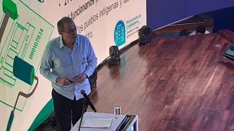 El procurador General de la Nación Fernando Carrillo Flórez.
