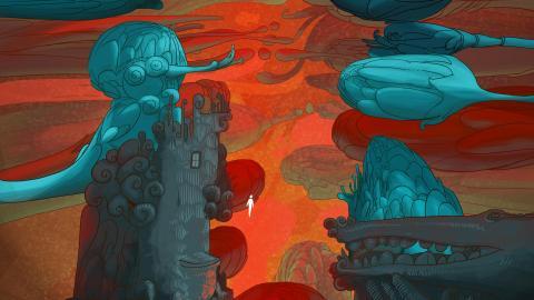 En 'Sunshine', el artista Omar Alonso plantea distintos universos fantásticos.