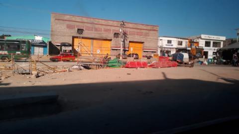 Obras de la avenida Circunvalar a la altura del puente de la 38.