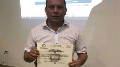 Alcalde de San Andrés de Sotavento.