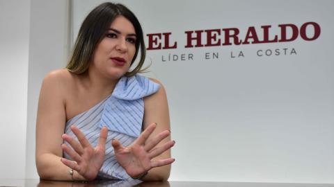 Alexandra Camargo, directora de Coosalud Atlántico.