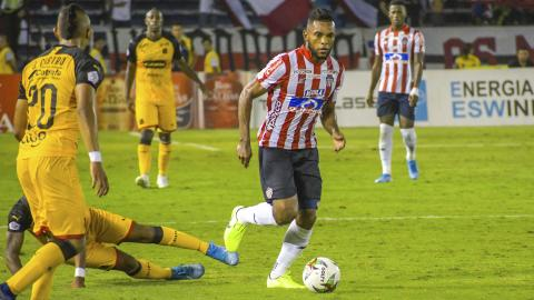 El cordobés Miguel Ángel Borja volverá a comandar el ataque de Junior junto a Teófilo Gutiérrez.