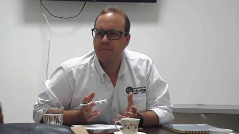Secretario del Interior y Participación Ciudadana, Camilo Berrocal Méndez.