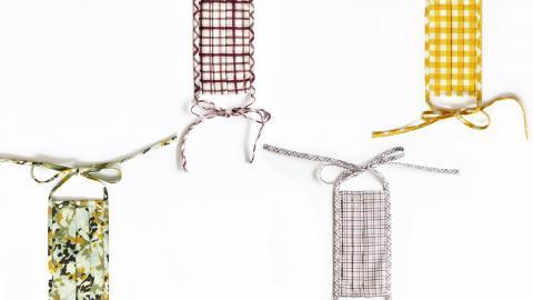 Estas son las cuatro mascarillas de la diseñadora barranquillera.