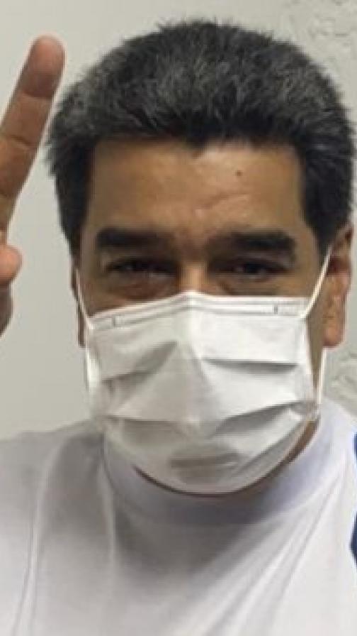 Maduro recibe la primera dosis de la vacuna rusa Sputnik V