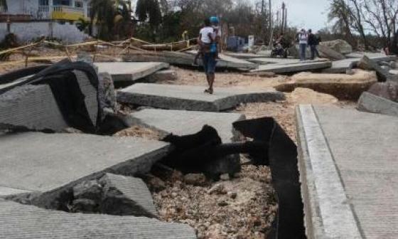 Islas devastadas