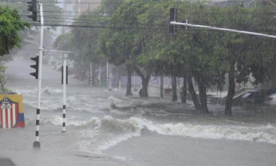 Tormenta en Barranquilla