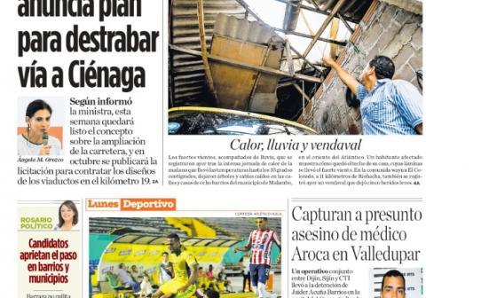 Mintransporte anuncia plan para destrabar la vía a Ciénaga
