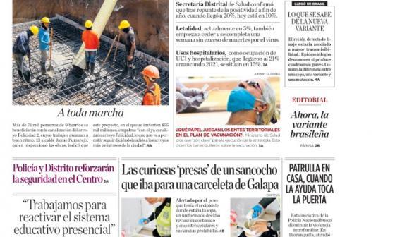 Barranquilla estabiliza sus indicadores de la covid-19