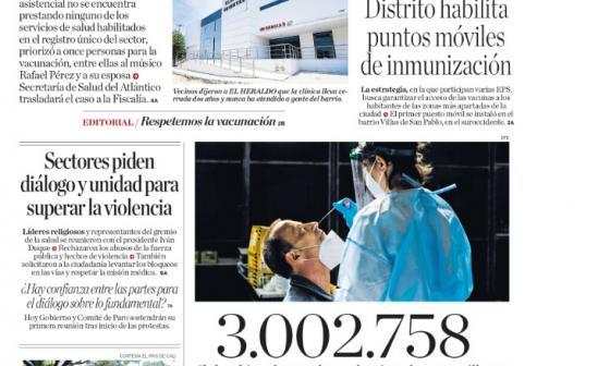 Crece escándalo por vacunación irregular