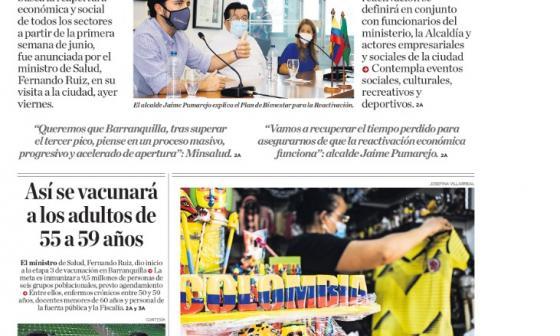 Barranquilla, ciudad piloto  para la reactivación nacional