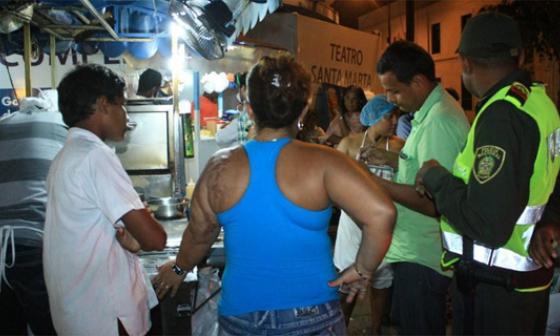 Secretaría de gobierno de Santa Marta selló locales en el Centro Histórico