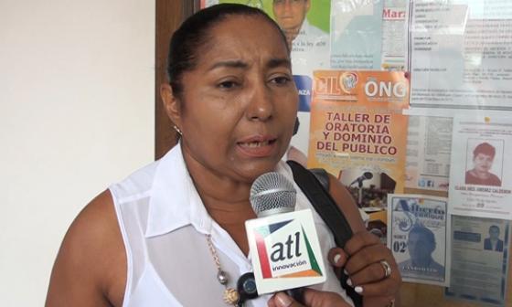 Enilda Vásquez, directora de la cárcel Judicial de Valledupar.