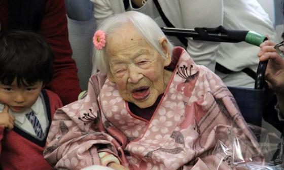 Misao Okawa falleció a los 117 años.