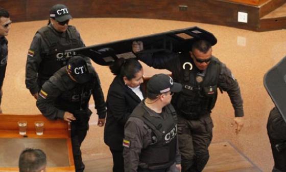 María del Pilar Hurtado es condenada a 14 años y Bernardo Moreno a 8