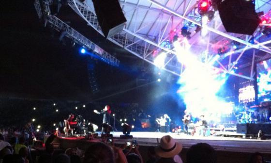 Marc Anthony impuso la salsa en el Festival Vallenato