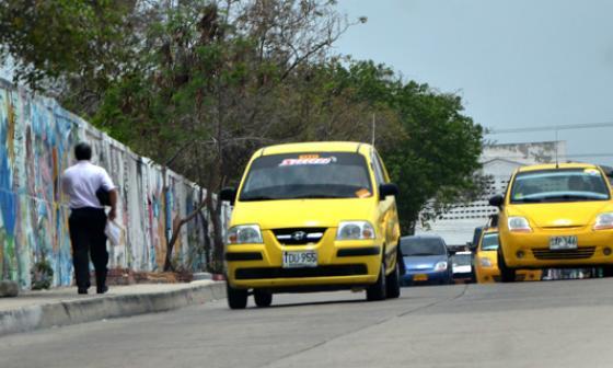 Tránsito de Soledad lleva 2.100 taxis censados
